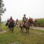 """Hier beim Start zum """"Trabweg West"""" im Maaswald"""
